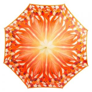 Зонт-трость Pasotti Uno Penna Orange Boo фото-2
