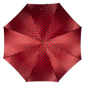Зонт-трость Pasotti Uno Pois Rosso фото-2