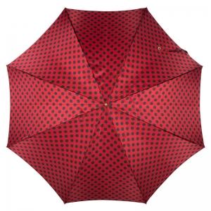 Зонт-трость Pasotti Uno Pois Rosso/Nero фото-2