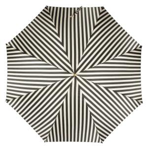 Зонт-трость Pasotti Uno Stripes Nero Beige фото-3