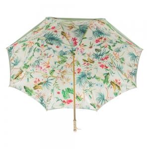Зонт-трость Pasotti Verde Ninfea Strass фото-3