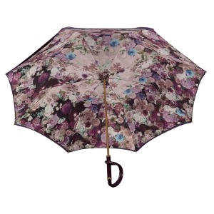 Зонт трость Pasotti Violatto Posy Plastica фото-3