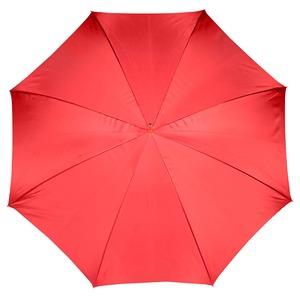 Зонт-трость Pasotti Rosso Pois Ivory Pelle фото-2