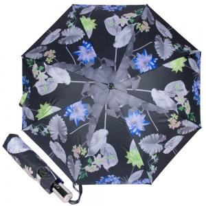 Зонт складной M&P C5863-OC Flowers Lotus фото-1