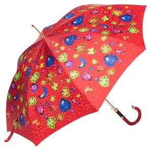 Зонт-трость Baldinini 17-LA Diamante long Rosso фото-4