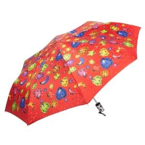 Зонт Складной  Baldinini 18-OC Diamante Red фото-2