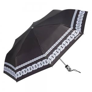 Зонт складной Baldinini 42-OC Catena Silver фото-2
