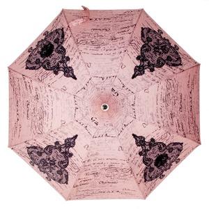 Зонт-трость Chantal Thomass Pagode Lettre Rose long 868 фото-2