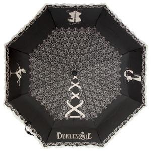Зонт складной Emme M383A-OC Burlesque Black фото-2