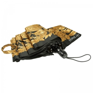 Зонт складной Ferre 351-OC Italian Lavr Gold фото-2
