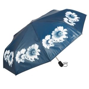 Зонт складной Ferre 6024-OC Daizy Blu фото-2