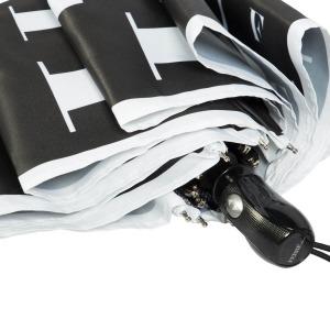 Зонт складной Ferre 6034-OC Symbol Black/White фото-3