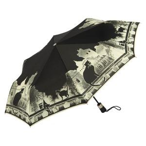 Зонт складной GDJ 3497-OC Cats Noir фото-2