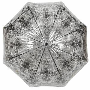 Зонт-трость прозрачный Jean Paul Gaultier 878-LM Transparent фото-4