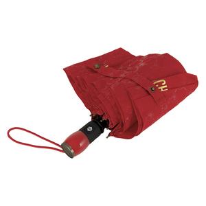 Зонт складной M 8270-OCC QM All-Over Red фото-4