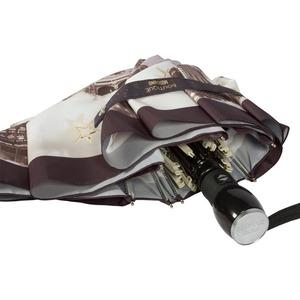 Зонт складной Moschino 7002-OCA Romantic City Black фото-3
