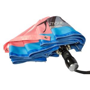 Зонт складной Moschino 7022-OCN Olivia Juliet Pink фото-3