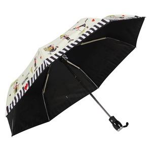 Зонт складной Moschino 7086-OCI Olivia Umbrellas Beige фото-3