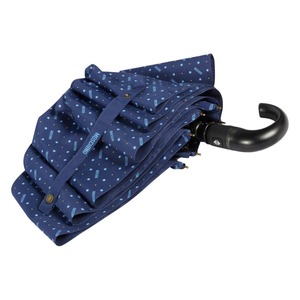Зонт складной Moschino 8505-ToplessF Man dots Blue фото-3