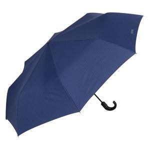 Зонт складной Moschino 8509-ToplessF Pinstripes Blue фото-2