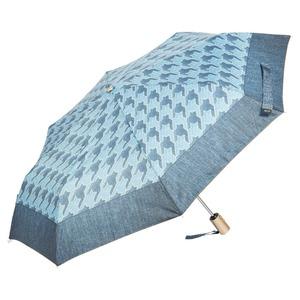 Зонт складной M&P C5873-OC Denim Pepita фото-2