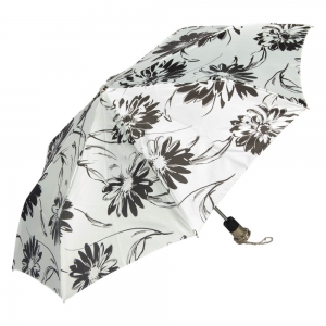 Зонт складной Pasotti Auto Aster Bianco Lux  фото-2