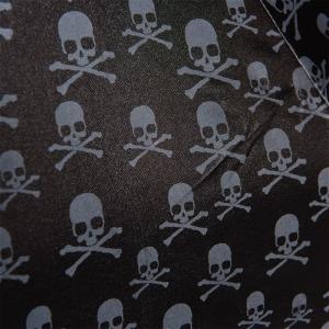 Зонт складной Pasotti Auto Capo Silver Sculls Black фото-6