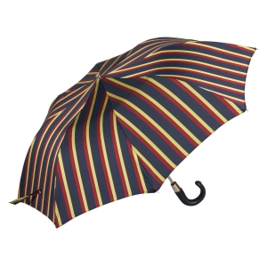 Зонт складной Pasotti Auto Classic Pelle Alfred Yellow фото-2