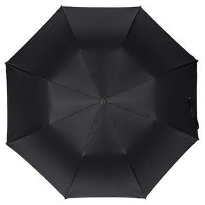 Зонт складной Pasotti Auto Classic  Pelle Oxford Black фото-3