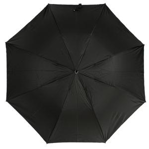 Зонт складной Pasotti Auto Ferro Silver StripesS Black фото-3