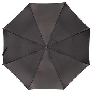 Зонт складной Pasotti Auto Labradore Silver Onda Black фото-3