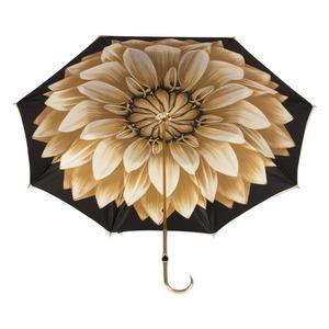 Зонт-трость Pasotti Bеcolore Georgin Beige Oro  фото-5