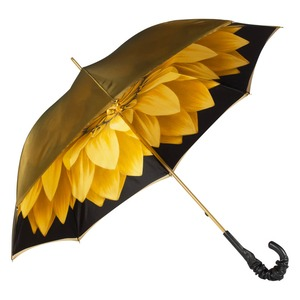 Зонт-трость Pasotti Becolore Georgin Giallo Pelle фото-5