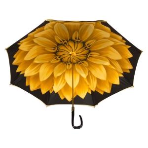 Зонт-трость Pasotti Bicolore Georgin Giallo Plastica Fiore фото-3
