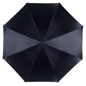 Зонт-трость Pasotti Blu Magnolia Pelle фото-2