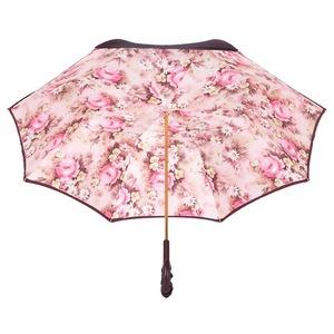 Зонт-трость Pasotti Bordo Daizy Pelle фото-4
