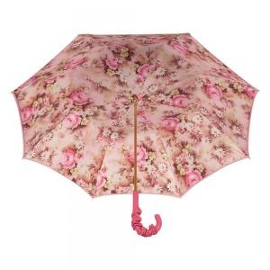 Зонт-трость Pasotti Magenta Daizy Pelle фото-4