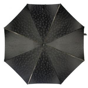 Зонт-трость Pasotti Capo Silver Picco Sculls Nero фото-2