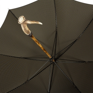 Зонт-трость Pasotti Cervo Punto Black фото-4