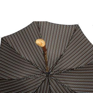Зонт-трость Pasotti Chestnut Maple Dots Blu фото-4