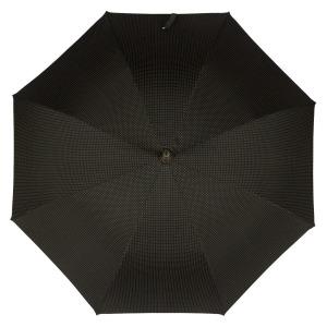 Зонт-трость Pasotti PelleBianco/Legno Punto Black фото-2