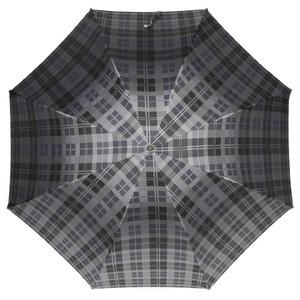 Зонт-трость Pasotti Classic Pelle Celtic Grey фото-2