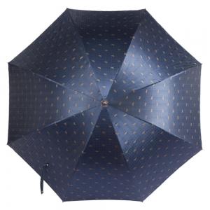 Зонт-трость Pasotti Classic Pelle Cetrio Blu фото-2