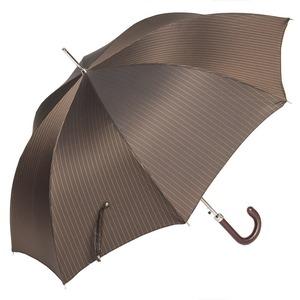 Зонт-трость Pasotti Classic Pelle Stripes S Morrone фото-4