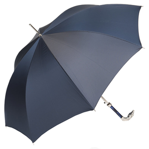Зонт-трость Pasotti Eagle Silver StripesS Dark Blu фото-4