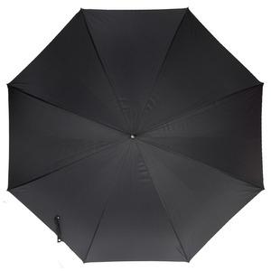 Зонт-трость Pasotti Ferro Silver StripesS Black фото-2