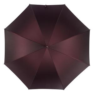Зонт-трость Pasotti Ferro Silver StripesS Bordo  фото-2