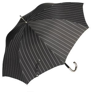 Зонт-трость Pasotti Inox StripesL Black фото-4