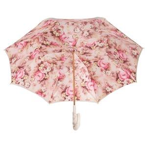 Зонт-трость Pasotti Ivory Daizy Pelle фото-4