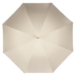 Зонт-трость Pasotti Ivory Pois Nero Plastica фото-2